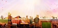 美妙的晚餐图片