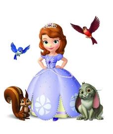 索菲亚公主图片
