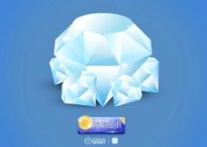 矢量钻石图片