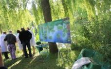 莫奈花园图片