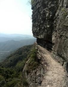 山崖小道图片