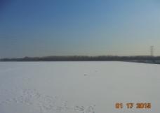 冬日白雪图片