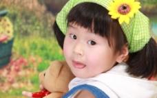 女童照片图片