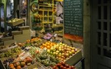 高清图西班牙水果陈列图片
