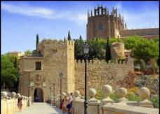 西班牙历史建筑图片
