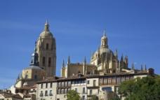 西班牙古老建筑图片