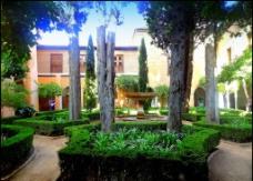 西班牙园林建筑图片