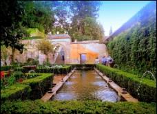西班牙典雅园林建筑图片