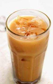 冻奶茶图片