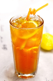 冻柠檬茶图片
