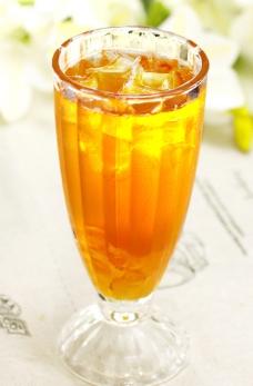 冻韩风蜜柚茶图片