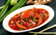 咖喱蟹图片