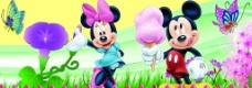 米老鼠花朵图片