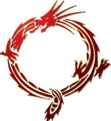 龙形花纹图片