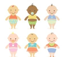卡通可爱婴儿图片