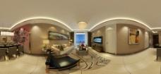 客厅全景图图片