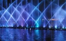汉中喷泉图片