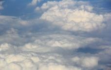 飞机上看天空图片