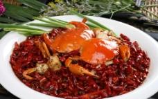香辣肉蟹图片