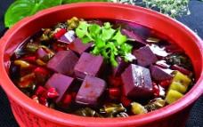 酸菜炖羊血图片