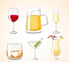 夏季酒品图片