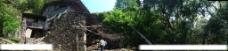 山林老房子图片