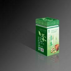 茶叶包装盒效果图