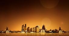 城市 黄昏 黎明 都市