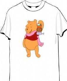 动物图案T恤
