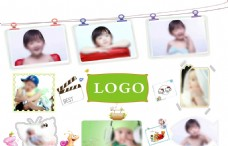 儿童照片墙