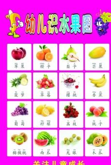 幼兒識字水果圖