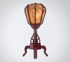 中式灯具模型