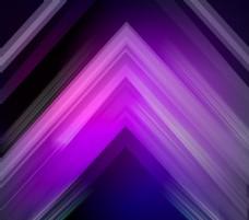 紫色系三角形背景矢量图