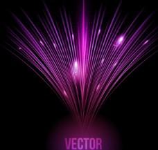 紫色光效背景