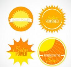 创意太阳能标签