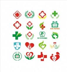 医院标志 医院logo 海报