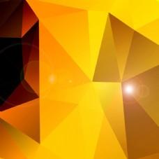 金色几何背景