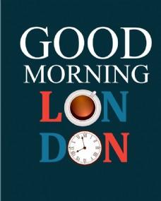 早安伦敦海报