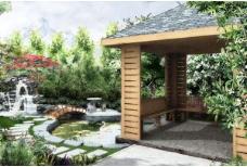 园林别墅设计效果图