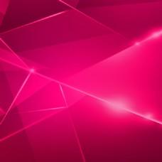 粉色多边形线条背景