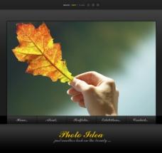 国外网页网站模板设计素材图片