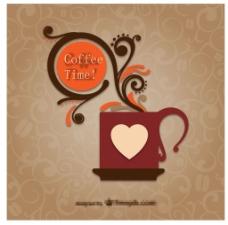 创意花纹咖啡杯
