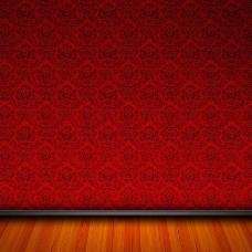 大红底纹促销推广主图背景图
