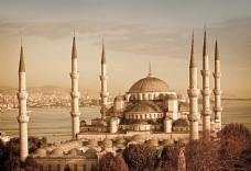 土耳其清真寺风景