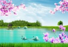 風景畫圖片