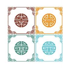 中國風傳統邊框裝飾
