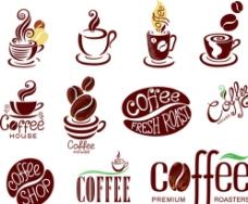 咖啡店标志图片