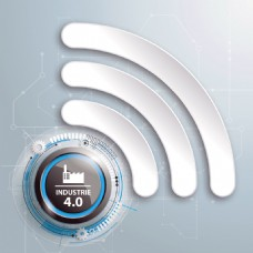 白色无线网素材图片