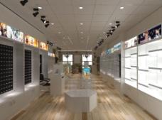 77动漫店3D室内设计图图片