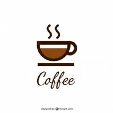 咖啡杯标志
